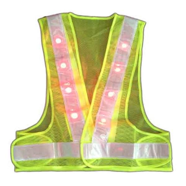 Áo Phản Quang Chữ A Có Đèn LED
