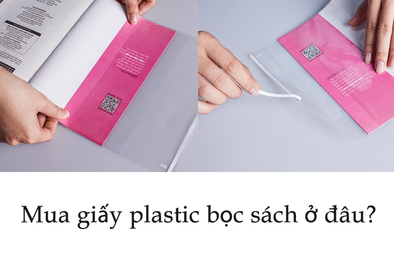 giay plastic boc sach an loc viet