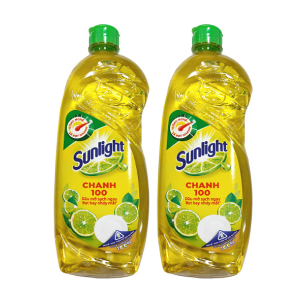 nuoc rua chen sunlight 750ml